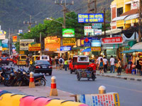Beach Road Patong part of a Phuket Tour