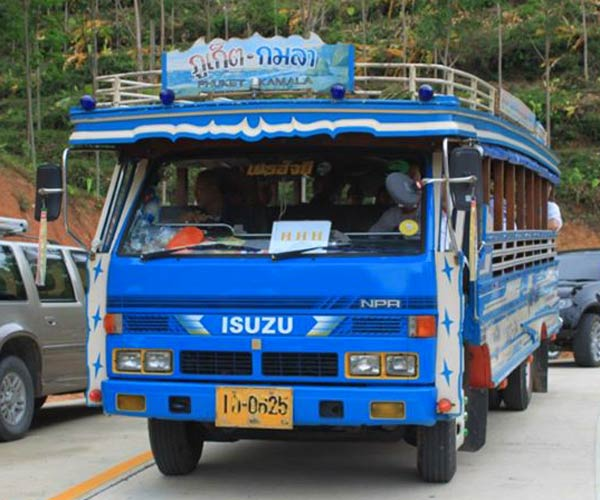 Phuket Baht Bus or Songteows