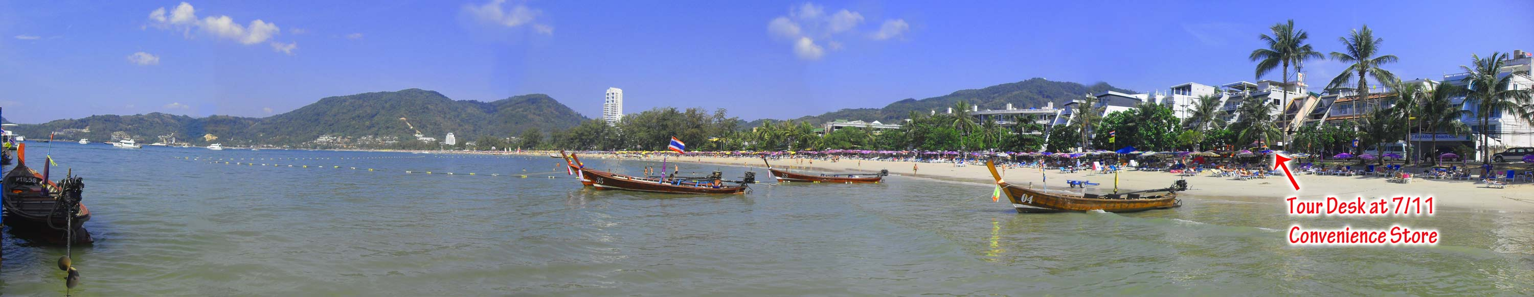 Patong Beach, Swimming, Boating, Fishing, Snorkeling, Phuket