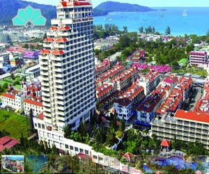 Paradise Hotel Patong view from 25th floor