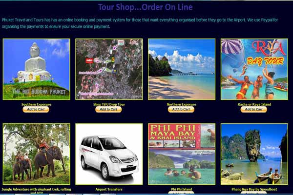 Phuket Travel and Tours Shop