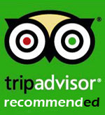 Trip Advisor Recommended Logo for Phuket Travel and Tours