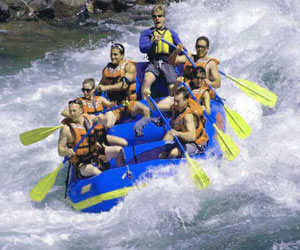Exciting White Water Rafting during a Phang Nga Tour